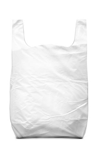 Non-printed bags