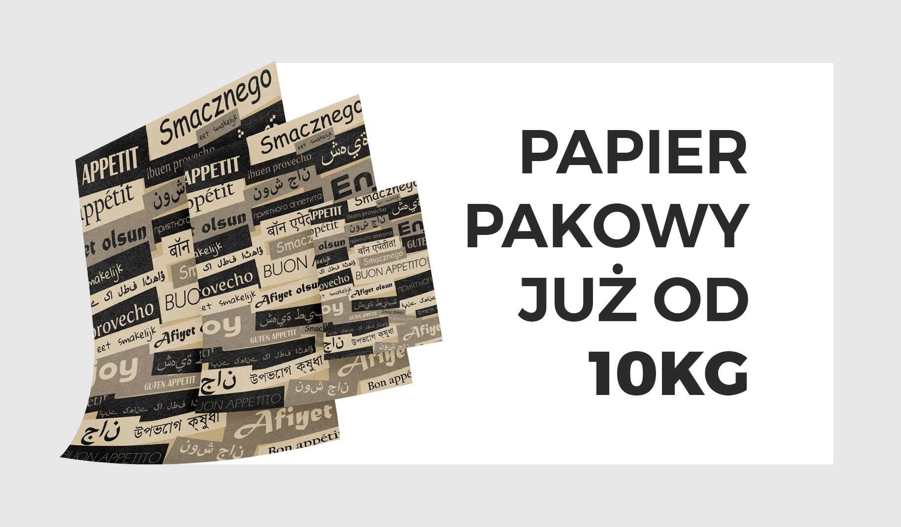 Papier pakowy 10kg