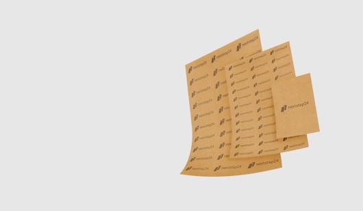 Papier pakowy z nadrukiem
